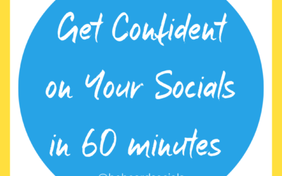 Get Confident On Your Socials in 60 Minutes